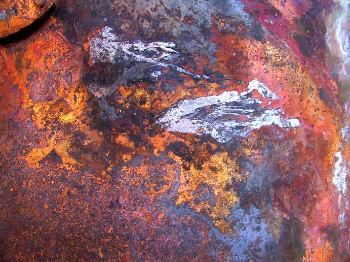 brændt kobberkar